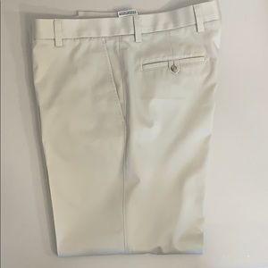 Dockers D2 Cream Flat Front Khaki Pants Men's Sz36